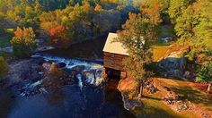 Photo by: @jelijaht.  Flying his Phantom 4.  Shot of the day @ Laurel Mill in Gold Sand NC
