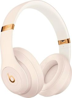 Shop Beats by Dr. Dre Beats Studio³ Wireless Noise Cancelling Headphones Porcelain Rose at Best Buy. Find low everyday prices and buy online for delivery or in-store pick-up. Beats Studio, Cute Headphones, Girl With Headphones, Beats By Dre, Wireless Noise Cancelling Headphones, Accessoires Iphone, Accesorios Casual, Iphone Accessories, Cool Things To Buy
