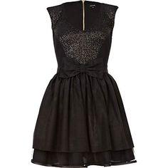 black sequin mini prom dress - prom dresses - dresses - women - River Island