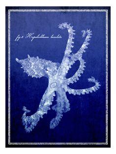 Blue art , Framed Art and Prints at Art.com