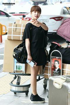 [160525] ♥ T-ara ♥ Boram ♥ Incheon Airport Back From Shanghai