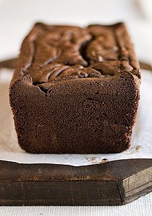 Recipe for Double Chocolate Loaf, as seen in the February 2009 issue of O, The Oprah Magazine.