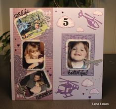 Lenas kort: Tina 5 år Er 5, Doodles, Polaroid Film, Frame, Cards, Picture Frame, Maps, Frames, Playing Cards