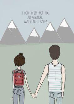 Adventure illustration by Blanka Biernat