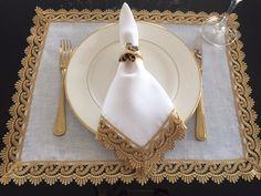 Novidades na MTD! Happy New Home, Wedding Plates, Elegant Dining, Rustic Table, Cocktail Napkins, Soft Furnishings, Napkin Rings, Dinnerware, Table Settings