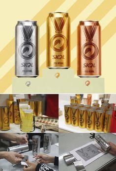 オリンピックモーメントを捉えたビールブランドのデザイン施策とは   AdGang