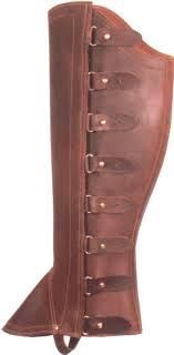 steampunk leather gaiters - Google Search
