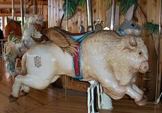 Lark Toys Carousel Bison Jumper