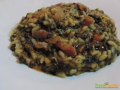 Riso e cicoria  #ricette #food #recipes