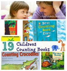 Best Childrens Books: 19 Counting Books for Toddlers Preschoolers and Young Learners