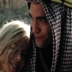 Rob as T.E. Lawrence in QUEEN OF THE DESERT