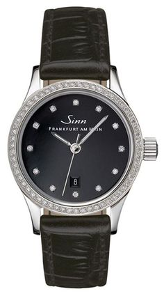 @sinnfrankfurt  Watch 456 TW70 WG Ladies Diamond Alligator #bezel-diamond #brand-sinn #case-depth-9mm #case-material-steel #case-width-28mm #clasp-type-hidden-folding-clasp #delivery-timescale-2-4-weeks #dial-colour-black #gender-ladies #limited-code #luxury #official-stockist-for-sinn-watches #packaging-sinn-watch-packaging #shipping-sinn-is-shipped-in-the-uk-only #style-dress #subcat-ladies-watches #supplier-model-no-456-030-alligator-strap #warranty-sinn-official-2-year-gua...
