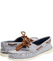 Boat Shoes... I own a white pair and a blue pair, but this is like the best of both worlds!