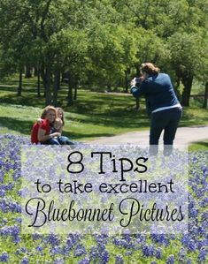 We have provided you with 8 tips to take excellent bluebonnet pictures of your family this season. Texas Bluebonnets make a gorgeous family photo.