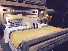 So great for a teenager, or guest room Country Cupboard, Bed Frame, Guest Room, Annie, Risotto, Bedding, Interiors, Rustic, Quilts