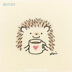 first sip of coffee! The post That first sip of coffee! appeared first on Best Pins for Yours. TheThat first sip of coffee! The post That first sip of coffee! appeared first on Best Pins for Yours. Hedgehog Art, Hedgehog Drawing, Cute Hedgehog, Hedgehog Illustration, Illustration Art, Motifs Animal, Dibujos Cute, Easy Drawings, Doodle Art
