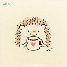 1137 ココア飲もうよ Let's drink hot chocolate.