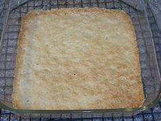 Baked Low Carb Crust