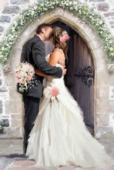 Richard MacNeil beso de bodas