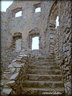 Ruins of medieval castle Hrusov ,Skýcov-Slovakia Medieval Castle, Temples, Castles, Mansions, Chateaus, Manor Houses, Villas, Mansion, Palaces