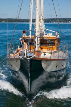 The classic 1933 William Hand motorsailer may charm the sea boots off your feet. Photos by Billy Black from our January 2012 issue; read more and watch the video here.