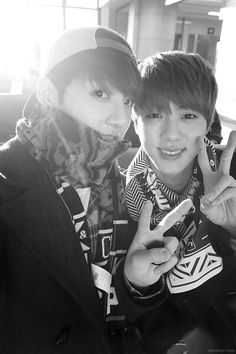 Jungkook and Jin