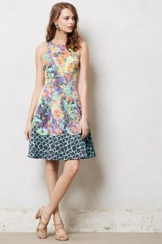 Fotoflora Dress-Anthropology. Pretty for a garden party or wedding shower.