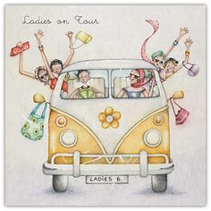 Ladies On Tour by Berni Parker