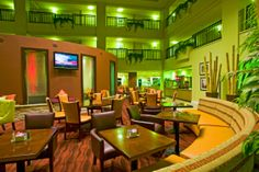 Located just 35 miles Northwest of Los Angeles, the Embassy Suites Valencia California hotel is located minutes from Six Flags and Hurricane Harbor. Valencia California, Hurricane Harbor, Embassy Suites, Santa Clarita, Group Travel, Atrium, Meet, Home Decor, Homemade Home Decor