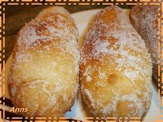 Receta Xuxos caseros para Anns - Petitchef Yeast Donuts, Baked Donuts, Fun Easy Recipes, Sweet Recipes, Peruvian Desserts, Beignets, Puff And Pie, Bread Recipes, Cooking Recipes