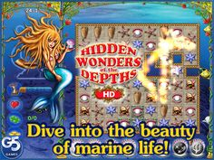 Hidden Wonders of the Depths HD (Full) Games Puzzle iPad App...: Hidden Wonders of the Depths HD (Full) Games Puzzle… #ipad #Games #Puzzle