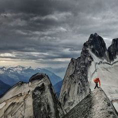 RENAN OZTURK'S VIEW FROM THE BUGABOOS - Last week, the climber and filmmaker Renan Ozturk took over The New Yorker's Instagram feed to share images from a recent expedition to the Bugaboos, a mountain range in British Columbia