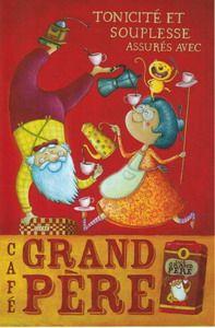 = café grand-mère  Amandine PIU