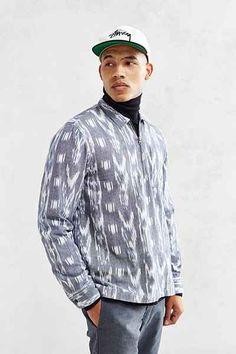 Stussy Ikat Zip Shirt