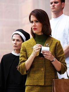 Lana (Sarah Paulson)  The psychic powers of Paulson's season 1 character Billie Dean Howard are gone, but the actress still plays a character with intuition. Lesbian journalist Lana is committed to the asylum by her own girlfriend after she nearly exposes Briarcliff's darkest secrets.
