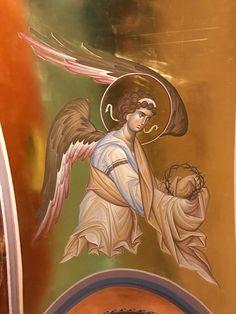 Byzantine Art, Byzantine Icons, Order Of Angels, Religious Icons, Catholic Art, Orthodox Icons, Christian Art, Illuminated Manuscript, Deities