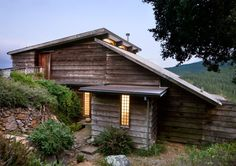 cascade of rooves and small panes. Blunk House, Inverness, CA Weatherboard House, Backyard Studio, House By The Sea, Cabins In The Woods, Home Deco, Tiny House, Architecture Design, New Homes, Cottage