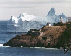 Cape Spear Newfoundland - The furthest most eastern point of Canada.  The icebergs were gorgeous.