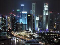 Night Skylines - Singapore