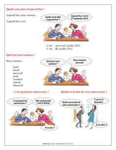 FLE - Leçon 3 - Quelle est la Date d'Aujourd'hui - Page 3