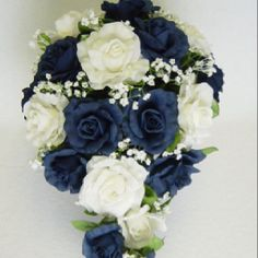 A little blue is all that's needed..this is really pretty