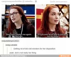 So many terrible jokes in that season. But I love Charlie. She's like the Nerd Queen of Supernatural.