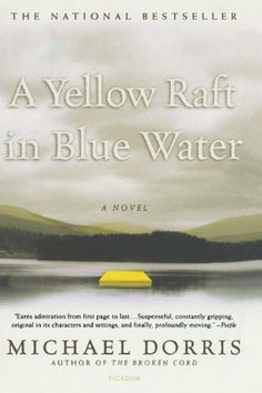 a yellow raft in blue water themes