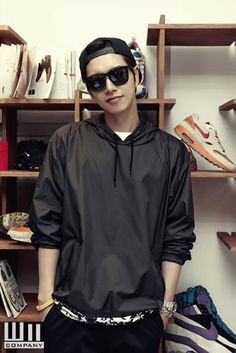 Image via We Heart It #airmax #nike #koreanactor #parkhaejin #wmcompany