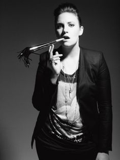 Lena Dunham. Fierce, talented, inspirational.