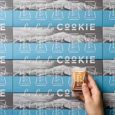 LaLaLa COOKIE - 洋菓子きのとや Wall Design, Layout Design, Print Design, Branding Design, Logo Design, Graphic Design, Beer Label, Japanese Design, Packaging Design Inspiration