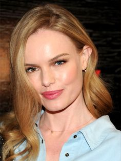 "FAIR SKIN Kate Bosworth may have just gone red a hot second ago, but how beautiful was her lighter hair? Robinson says the brownish-blonde shade works because of its ""natural-looking warm roots and cascading buttery highlights."" When roots are tinted slightly darker like this, she says, they provide ""richness and contrast,"" helping the color blend gracefully with her fair skin. To re-create it, ask for a ""caramel base with lighter blonde tones through the midlength and ends, and pale…"