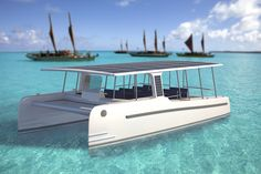 The SoelCat 12  #SoelYachts #TrueEcotourism #gosolar #boats