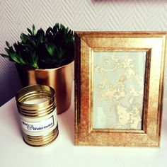 No need to buy pictures when you can make your own! Buy Pictures, Candle Jars, Candles, Make Your Own, How To Make, Lettuce, Canning, Home Decor, Art