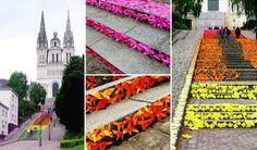 STREET ART : Les plus beaux escaliers du monde !   E-TV
